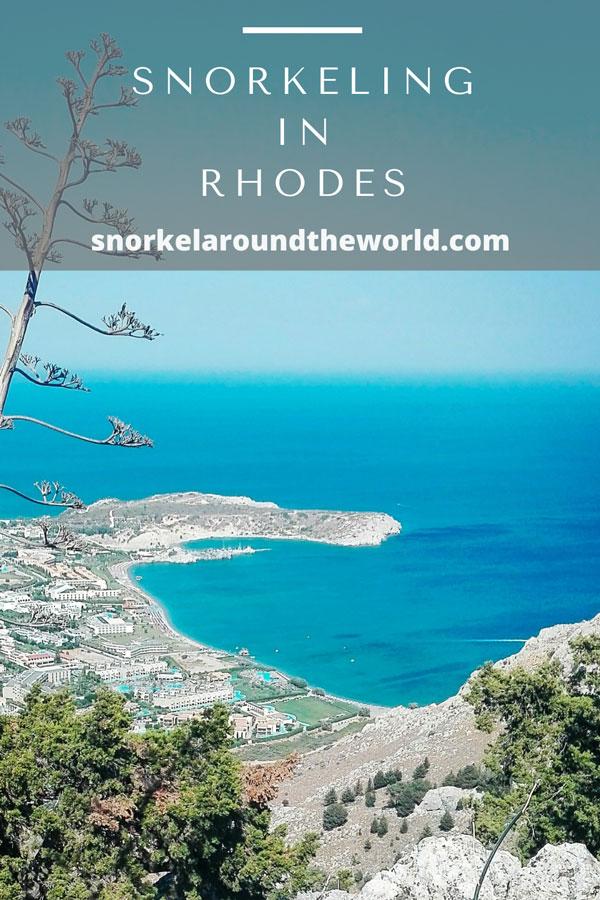 Rhodes snorkeling guide