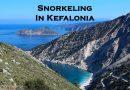 Snorkeling in Kefalonia
