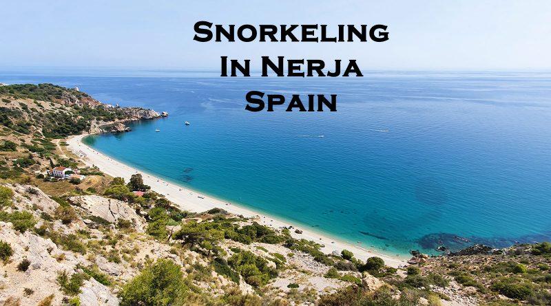 Snorkeling in Nerja-Spain