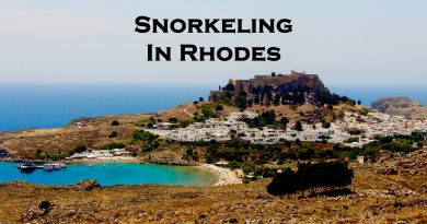 Snorkeling in Rhodes