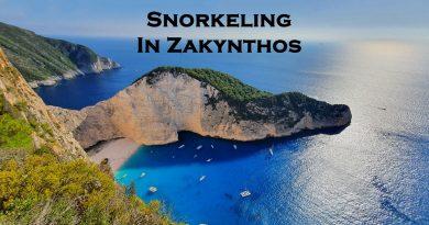 Snorkeling in Zakynthos