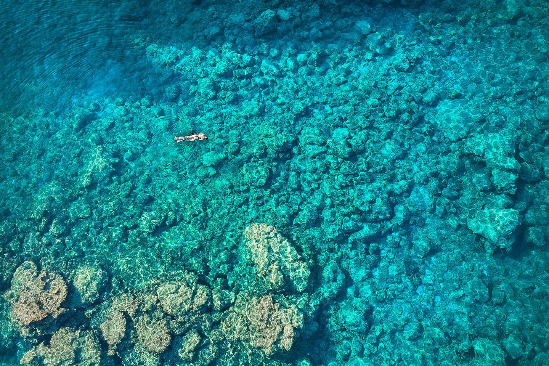 Snorkeling Ladiko Bay
