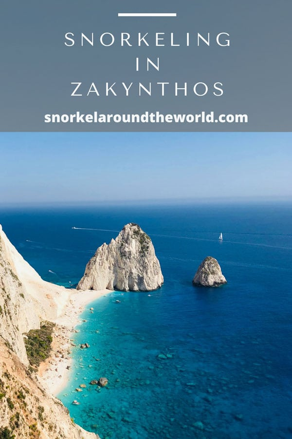 Zakynthos snorkeling places